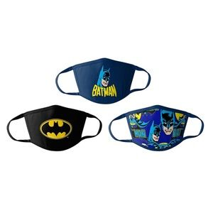 ⚜️Child Batman 3pack Face Mask!